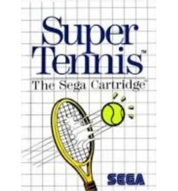 JEU MASTER SYSTEM SUPER TENNIS (CARTRIDGE)