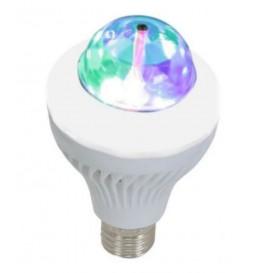 DUAL EFFET ASTRO MINI A LED IBIZA 3X1W RGBLED +15X SMD LED CHIP