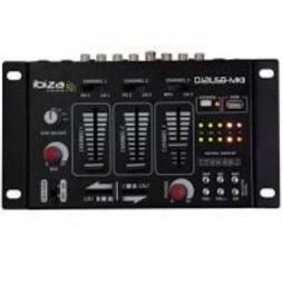TABLE DE MIXAGE USB AVEC AFFICHAGE DIGITAL