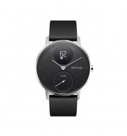 MONTRE CONNECTEE WITHINGS HYBRID SMARTWATCH STEEL HR 36MM