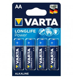 4 PILES LR06 VARTA HIGH ENERGY AA