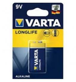 VARTA BATTERIE ALKALINE E-BLOCK 6LR61 9V BLISTER