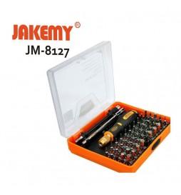 KIT DE TOURNEVIS DE PRECISION 53 EN 1 JAKEMY JM-8127
