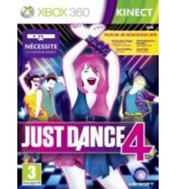JEU XBOX 360 JUST DANCE 4
