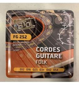 CORDE DE GUITARE FOLK STOL FG252