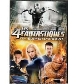 DVD LES QUATRES FANTASTIQUES ET LE SURFEUR D'ARGENT