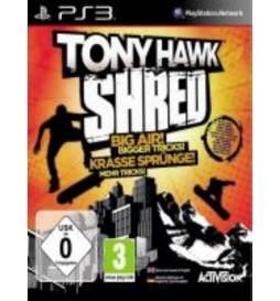JEU PS3 TONY HAWK : SHRED