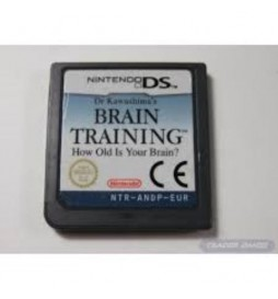 JEU DS BRAIN TRAINING HOW OLD IS YOUR BRAIN ?