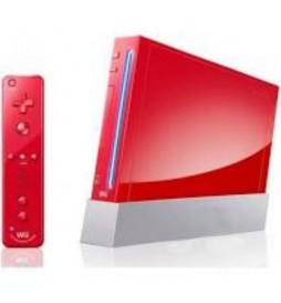 CONSOLE NINTENDO WII ROUGE RVL-001