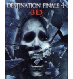 BLURAY  DESTINATION FINALE 4 3D + 4 PAIRES DE LUNETTES