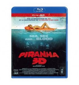 BLURAY PIRANHA  ANAGLYPHE, LE FILM EN 2 D ET EN 2 PAIRES DE LUNETTES INCLUSES) [VERSION 3-D