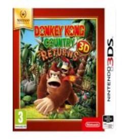 JEU 3DS DONKEY KONG COUNTRY RETURNS 3D