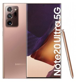 TELEPHONE PORTABLE SAMSUNG GALAXY NOTE 20 ULTRA 512 GO 5G COULEUR BRONZE