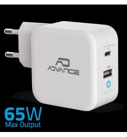 Chargeur Forcell avec prise USB type-C  2,4A avec fonction Quick Charge 3.0