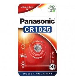 PILE PANASONIC CR1025 3V 1 PIECE
