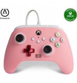 MANETTE FILAIRE  XBOX ONE / SERIE X/PC ROSE OFFICIELLE