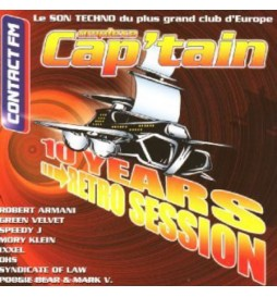 CD 10 YEARS - RETRO SESSION - COMPLEXE CAP'TAIN